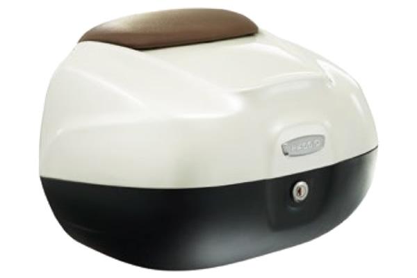 Piaggio Liberty Top Box Bianco Perla White 566 RRP New £125 CM271103