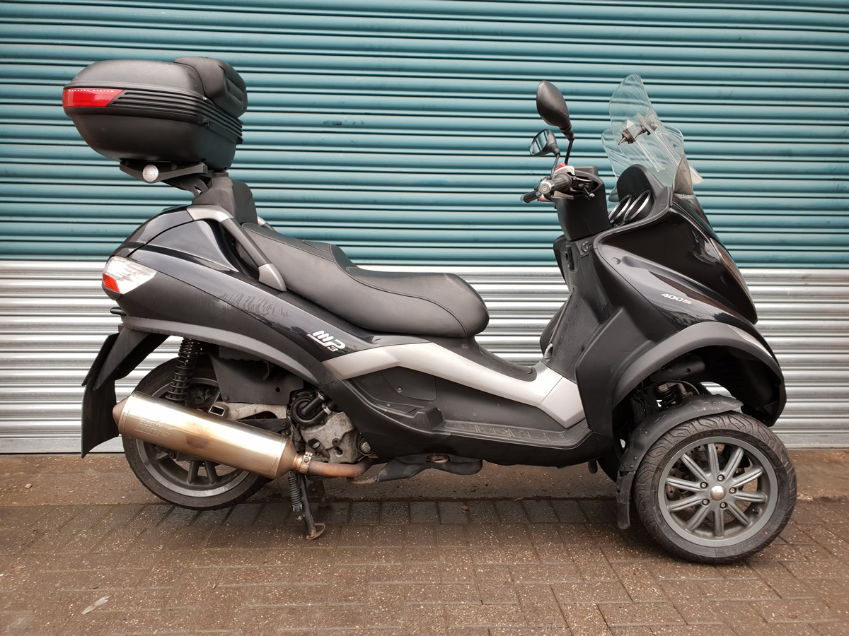 piaggio mp3 400 lt for sale in nottingham east midlands. Black Bedroom Furniture Sets. Home Design Ideas